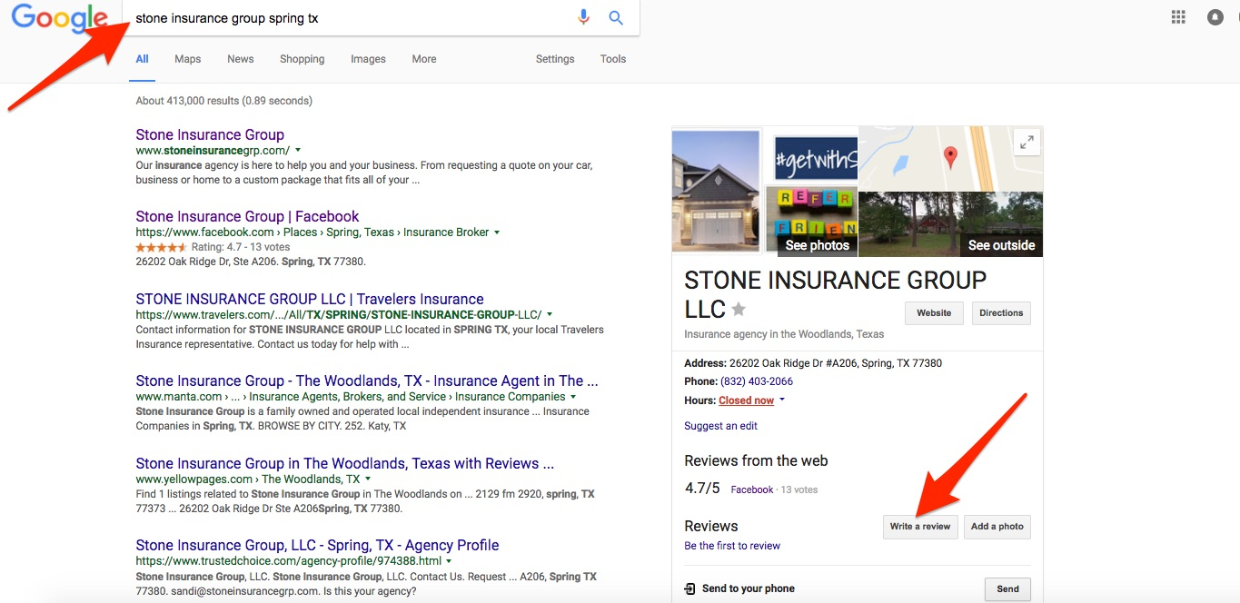 google-reviews-stone-insurance-group