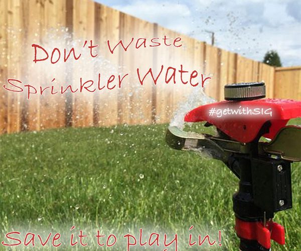 Sprinkler Water-Save It-Springwood Marketing, LLC